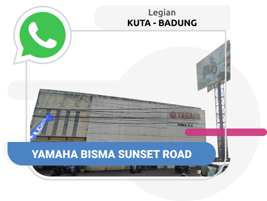 Yamaha Bisma Sunset Road